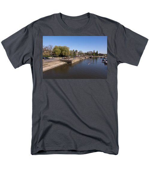 Men's T-Shirt  (Regular Fit) featuring the photograph Twickenham On Thames by Maj Seda