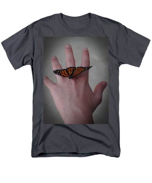 Men's T-Shirt  (Regular Fit) featuring the photograph Upon My Hand by Julia Wilcox