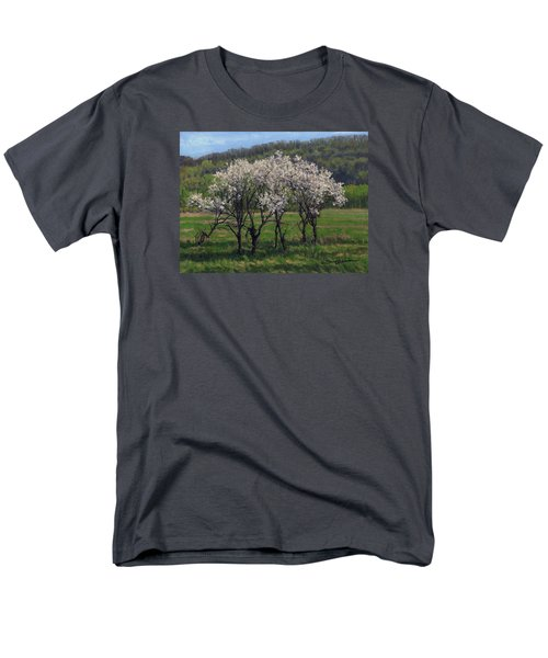 Valley Plum Thicket Men's T-Shirt  (Regular Fit) by Bruce Morrison