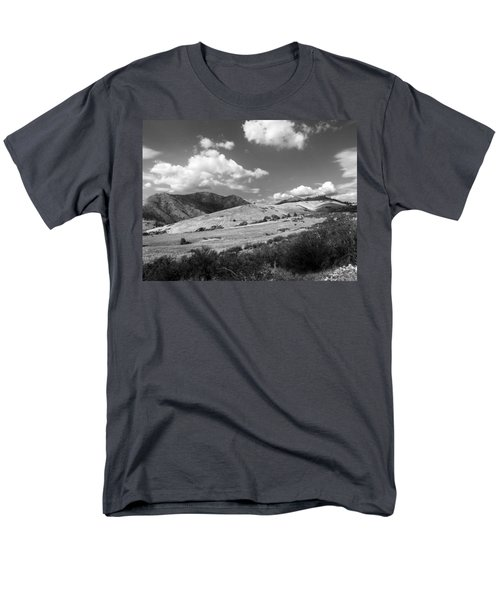 Men's T-Shirt  (Regular Fit) featuring the photograph View Into The Mountains by Kathleen Grace