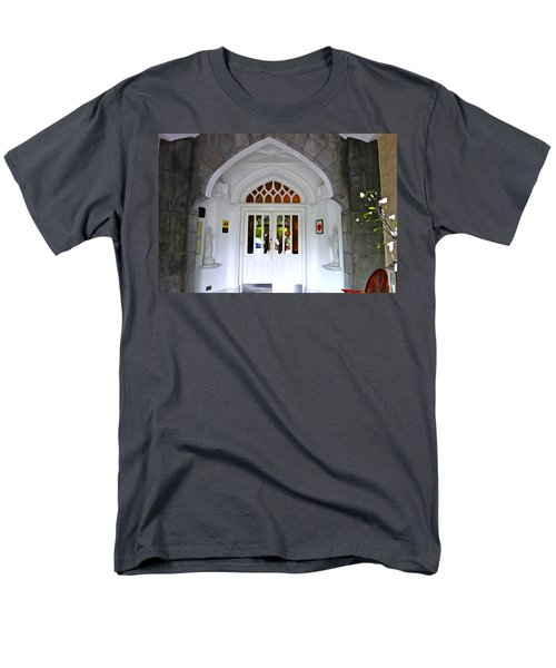 Men's T-Shirt  (Regular Fit) featuring the photograph Welcome To The Manor by Charlie and Norma Brock