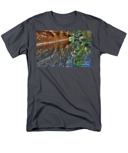 Men's T-Shirt  (Regular Fit) featuring the photograph West Fork Reflection by Tam Ryan