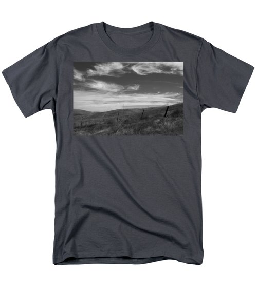Men's T-Shirt  (Regular Fit) featuring the photograph Whipping Up The Hillside by Kathleen Grace