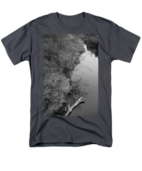 Men's T-Shirt  (Regular Fit) featuring the photograph White Branch Riverside  by Kathleen Grace