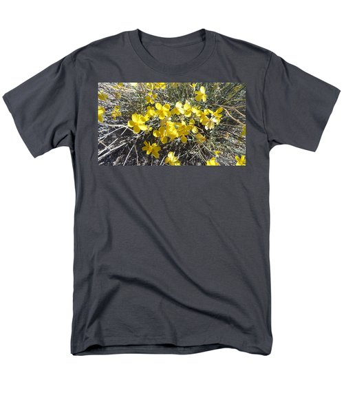 Men's T-Shirt  (Regular Fit) featuring the photograph Wild Desert Flowers by Kume Bryant