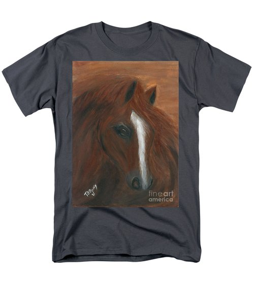 Men's T-Shirt  (Regular Fit) featuring the painting Wildfire by Barbie Batson