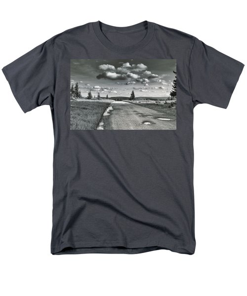 Men's T-Shirt  (Regular Fit) featuring the photograph Winding Road by Mary Almond