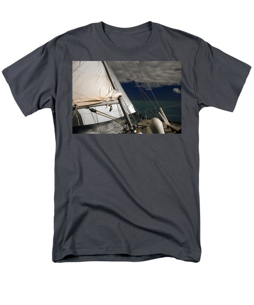 Windy Day Men's T-Shirt  (Regular Fit) by Sally Weigand
