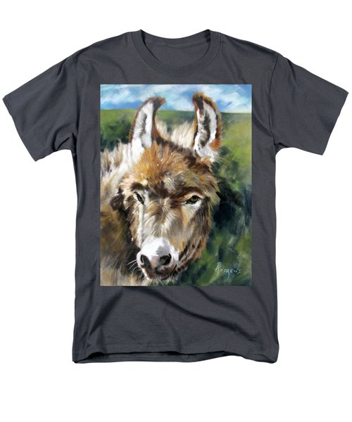 Men's T-Shirt  (Regular Fit) featuring the painting You Want To Pin The Tail On The What by Rae Andrews