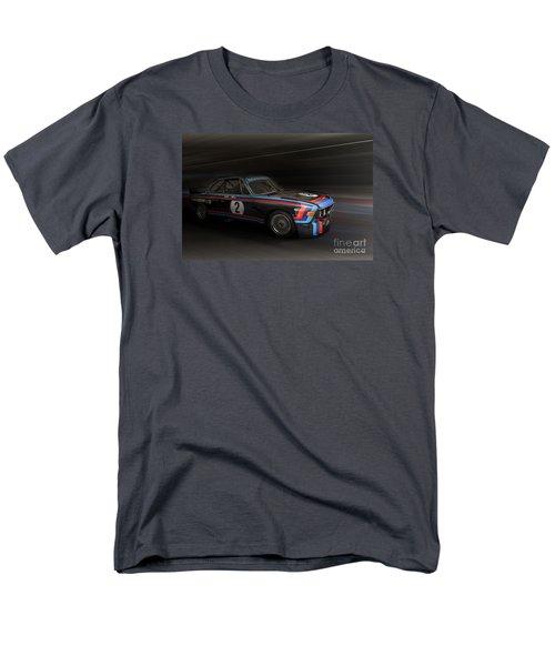 1974  Bmw 3.0 Csl Batmobile Men's T-Shirt  (Regular Fit) by Roger Lighterness