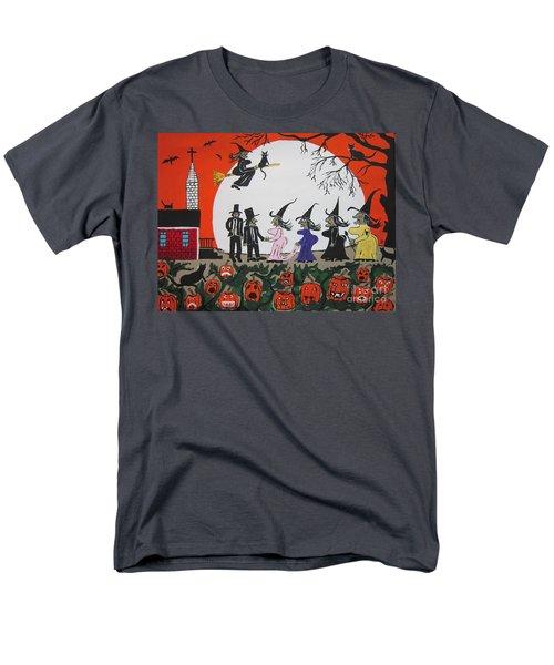 A Halloween Wedding Men's T-Shirt  (Regular Fit) by Jeffrey Koss