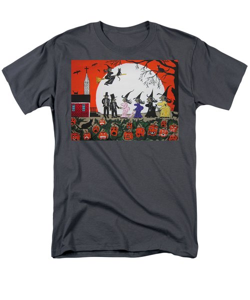 A Halloween Wedding Men's T-Shirt  (Regular Fit)