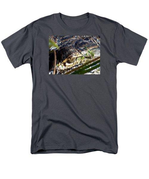 Alligator Eye  Men's T-Shirt  (Regular Fit) by Chris Mercer