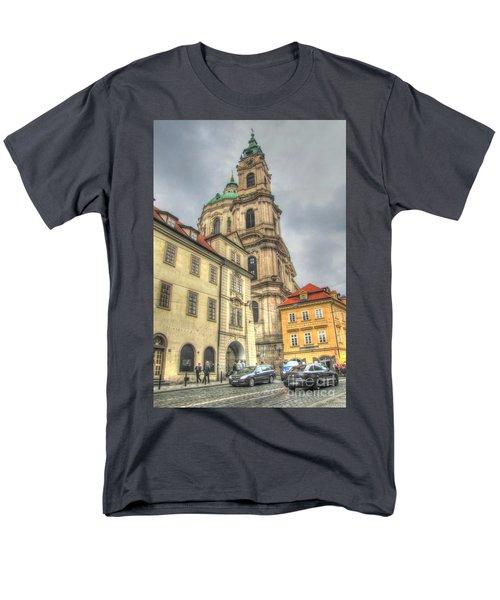 Praha Chehia Men's T-Shirt  (Regular Fit) by Yury Bashkin