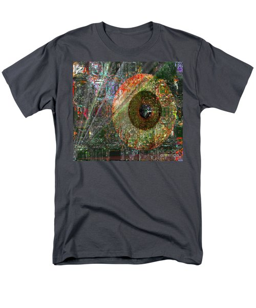 Men's T-Shirt  (Regular Fit) featuring the digital art  Savior Watching Over Me by Fania Simon
