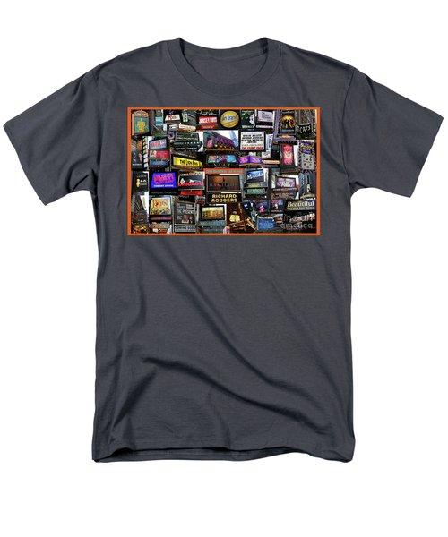 2016 Broadway Fall Collage Men's T-Shirt  (Regular Fit) by Steven Spak