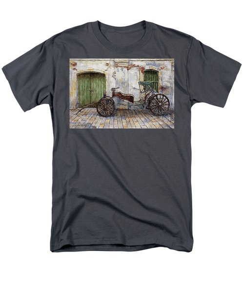 A Carriage On Crisologo Street 2 Men's T-Shirt  (Regular Fit) by Joey Agbayani