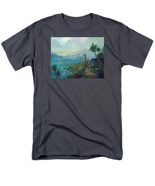 A Small Patch Of Heaven Men's T-Shirt  (Regular Fit)