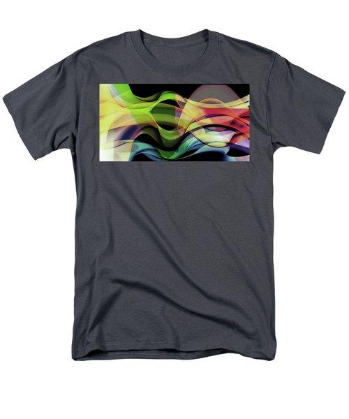 Men's T-Shirt  (Regular Fit) featuring the photograph Abstract Photography by Allen Beilschmidt