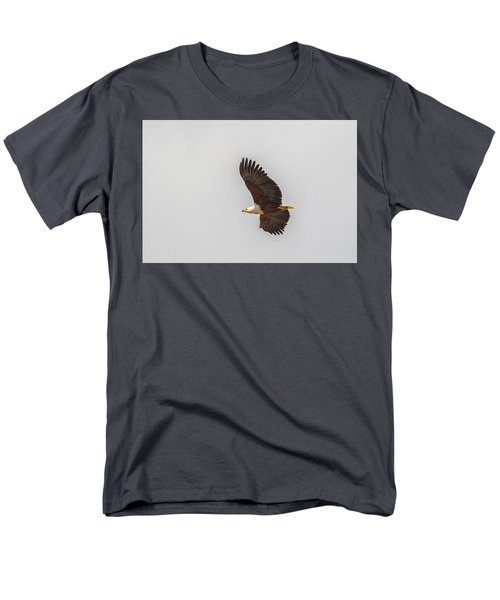 African Fish Eagle Men's T-Shirt  (Regular Fit) by Kathy Adams Clark