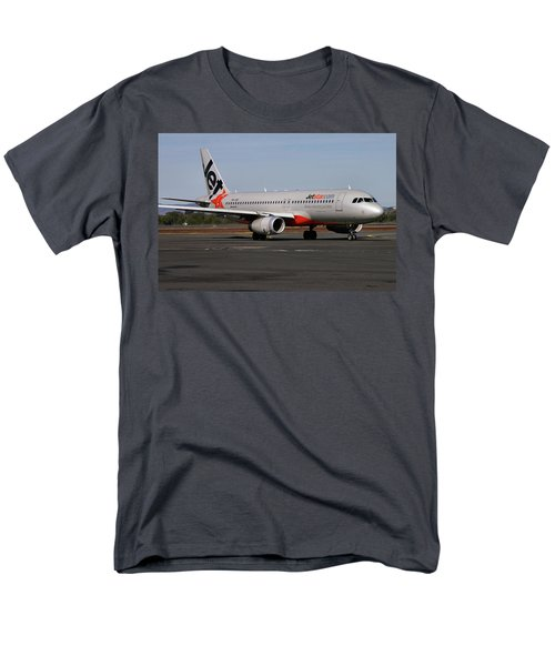 Airbus A320-232 Men's T-Shirt  (Regular Fit) by Tim Beach