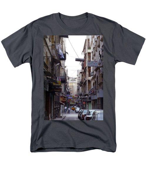 Aleppo Street01 Men's T-Shirt  (Regular Fit)