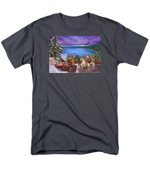 Among The Spirits Men's T-Shirt  (Regular Fit) by Glenn Holbrook