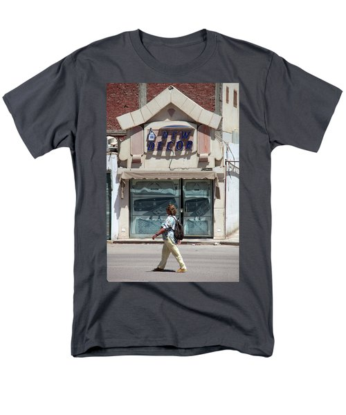 And There Men's T-Shirt  (Regular Fit) by Jez C Self