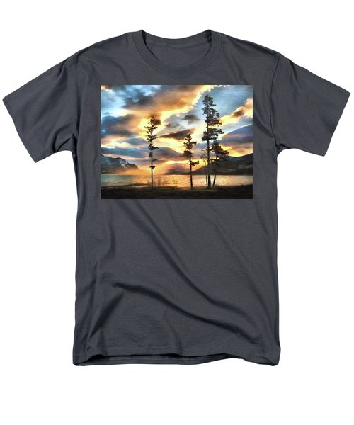 Men's T-Shirt  (Regular Fit) featuring the photograph Anniversary by Kathy Bassett