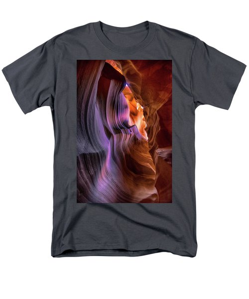 Men's T-Shirt  (Regular Fit) featuring the photograph Antelope Canyon #6 by Phil Abrams