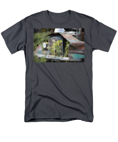 Men's T-Shirt  (Regular Fit) featuring the photograph Antique Mack Truck by Charles Harden