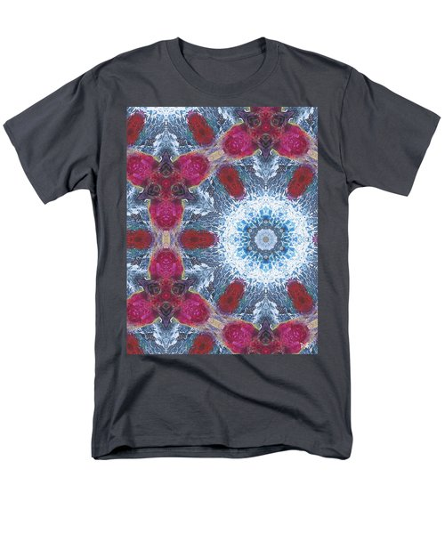 Arctic Blossom Men's T-Shirt  (Regular Fit) by Maria Watt