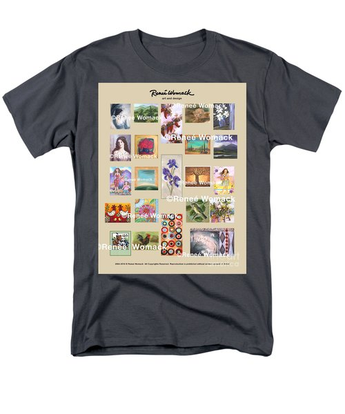 Art Collection Men's T-Shirt  (Regular Fit) by Renee Womack