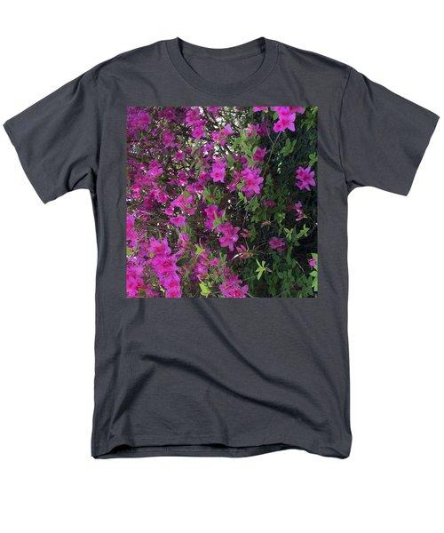 Azaleas Men's T-Shirt  (Regular Fit) by Kay Gilley