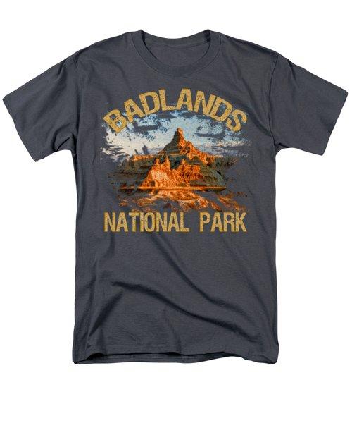 Badlands National Park Men's T-Shirt  (Regular Fit) by David G Paul