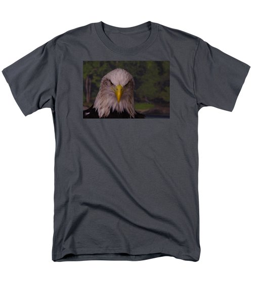 Men's T-Shirt  (Regular Fit) featuring the photograph Bald Eagle by Steven Clipperton