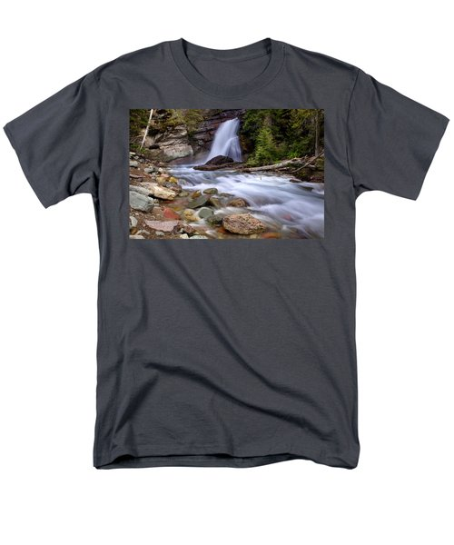 Baring Falls Men's T-Shirt  (Regular Fit) by Jack Bell