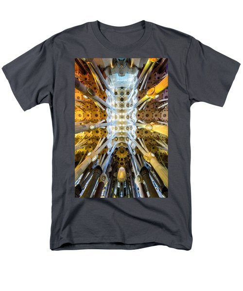 Basilica De La Sagrada Familia Men's T-Shirt  (Regular Fit) by Randy Scherkenbach