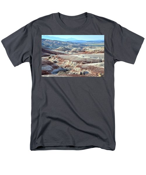 Bentonite Clay Dunes In Cathedral Valley Men's T-Shirt  (Regular Fit) by Ray Mathis