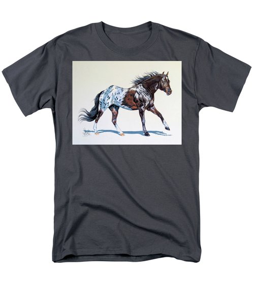Blanketed Appaloosa Men's T-Shirt  (Regular Fit) by Cheryl Poland