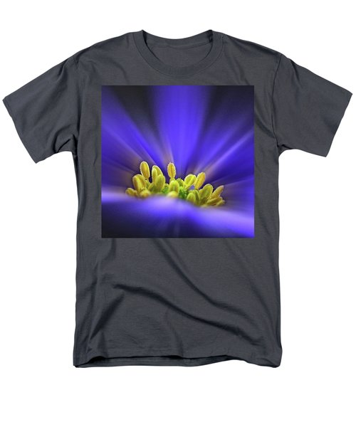 blue Shades - An Anemone Blanda Men's T-Shirt  (Regular Fit) by John Edwards