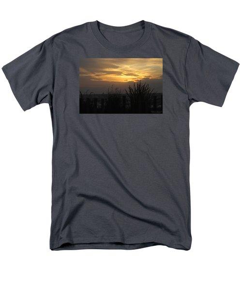Men's T-Shirt  (Regular Fit) featuring the photograph Breaking Dawn by Robert Banach