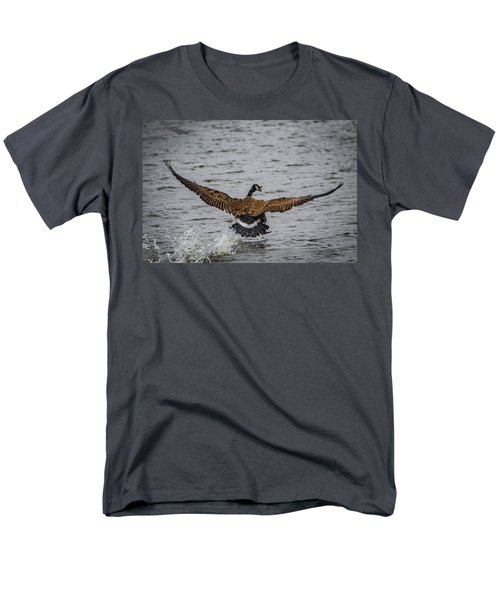 Canada Goose Men's T-Shirt  (Regular Fit) by Ray Congrove