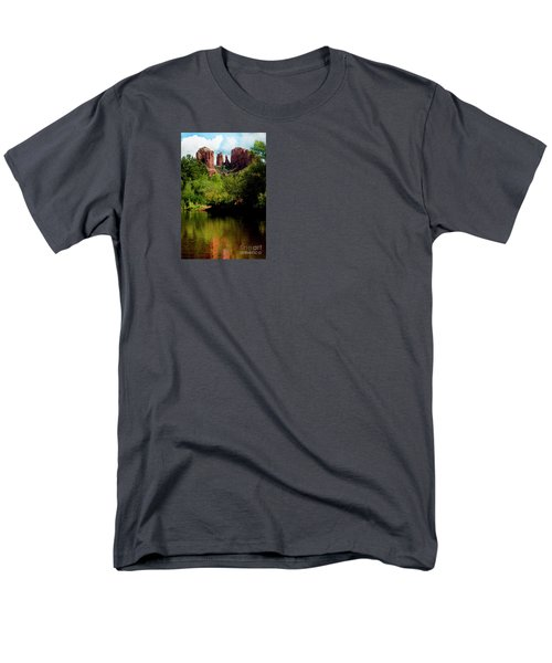 Cathedral Rock Men's T-Shirt  (Regular Fit) by Ivete Basso Photography