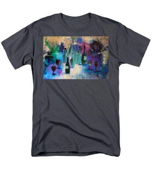 Men's T-Shirt  (Regular Fit) featuring the painting Cheers by Lisa Kaiser