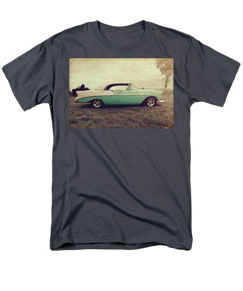 Men's T-Shirt  (Regular Fit) featuring the photograph Chevy Bel Air by Joel Witmeyer