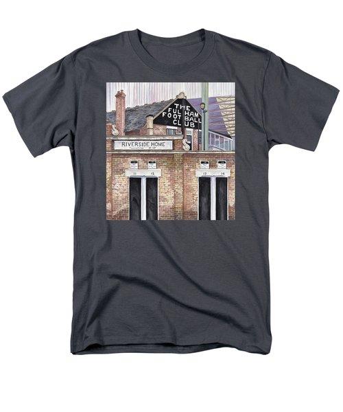 Craven Cottage Men's T-Shirt  (Regular Fit) by Scott Nelson