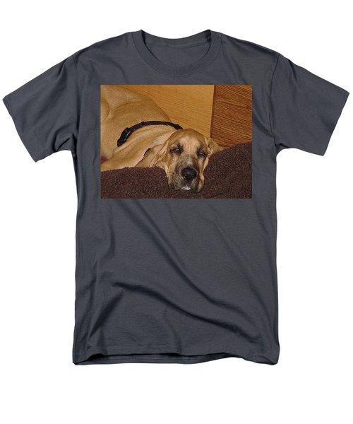 Dog Tired Men's T-Shirt  (Regular Fit) by Val Oconnor