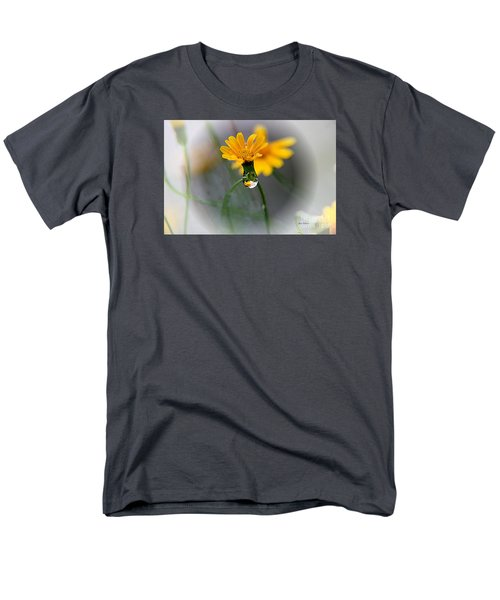 Men's T-Shirt  (Regular Fit) featuring the photograph Double Yellow by Yumi Johnson