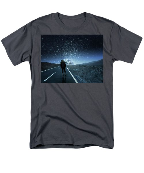 Dreams Men's T-Shirt  (Regular Fit) by Berebel Co By Angel Caulin